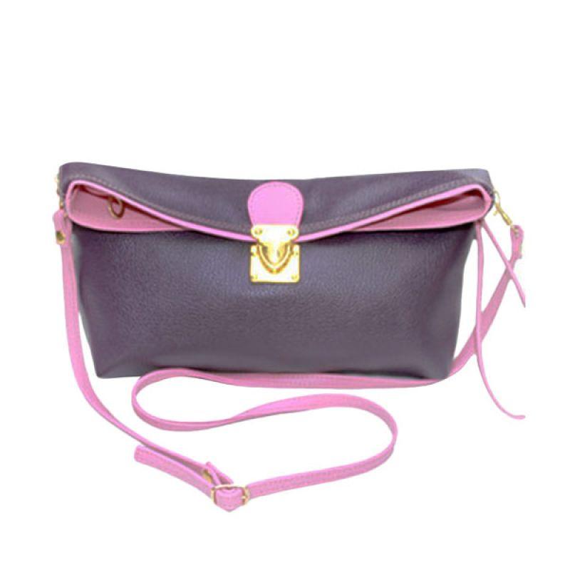 Viyar Hibiscus 2 Cosmetic Case Dark Purple