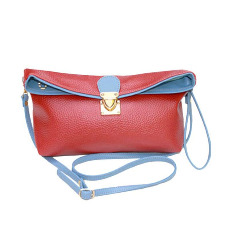 Viyar Hibiscus 2 Cosmetic Case Red
