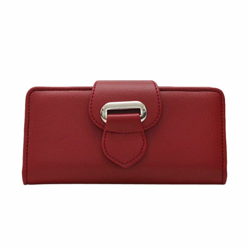Viyar Lula Wallet Dark Red