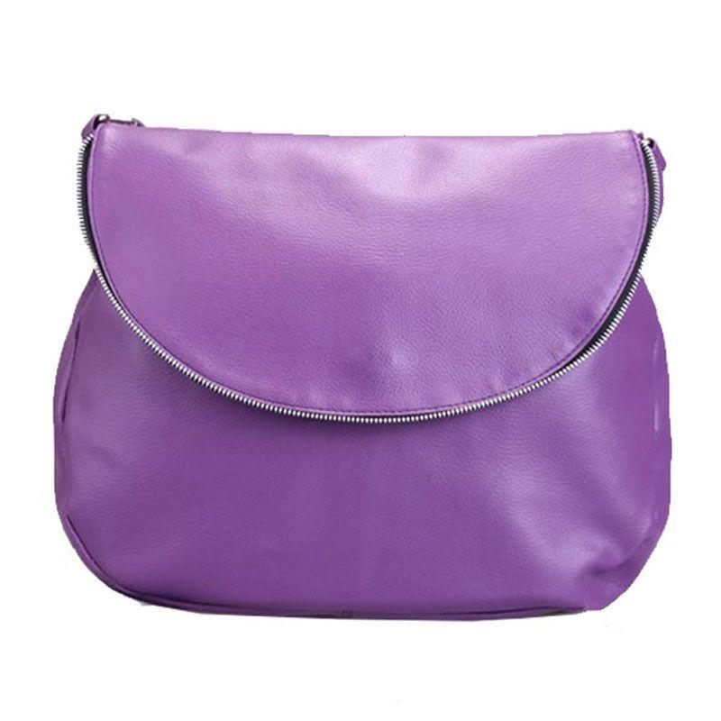 Viyar Mimosa Dark Purple Tas Selempang