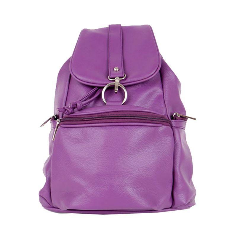 Viyar Orchid Dark Purple Tas Ransel