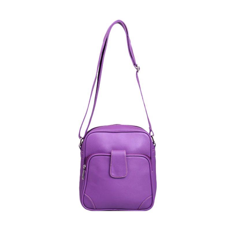 Viyar Peppermint Dark Purple Tas Selempang