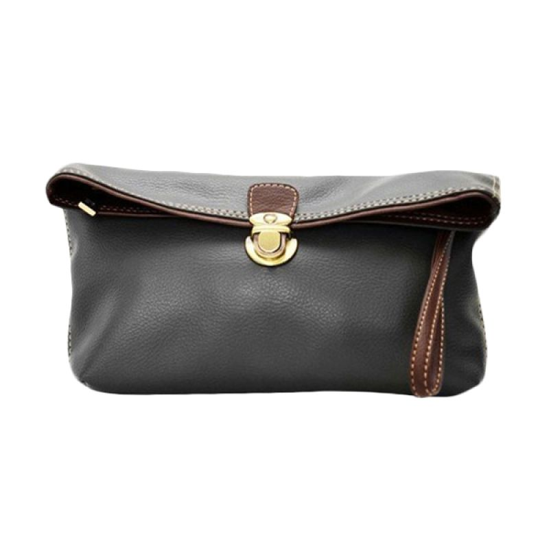 Viyar Sweet Pea Dark Grey Clutch