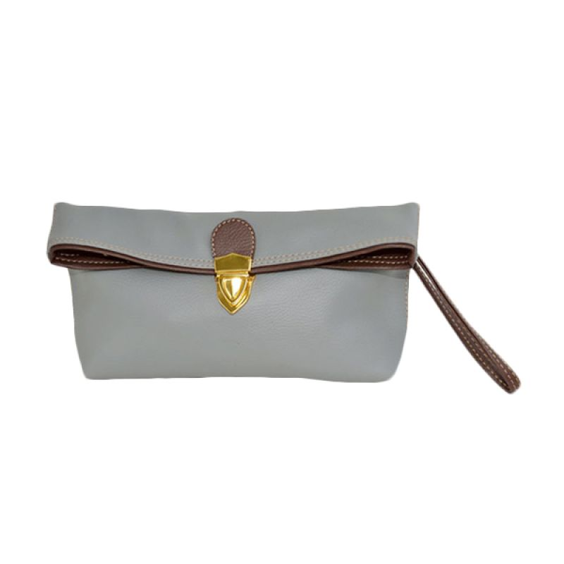 Viyar Sweet Pea Grey Clutch