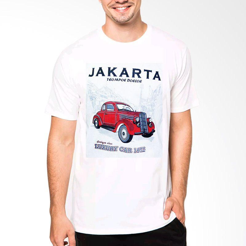 VM CT06 O-Neck Jakarta katun Putih Kaos Pria Extra diskon 7% setiap hari Extra diskon 5% setiap hari Citibank – lebih hemat 10%