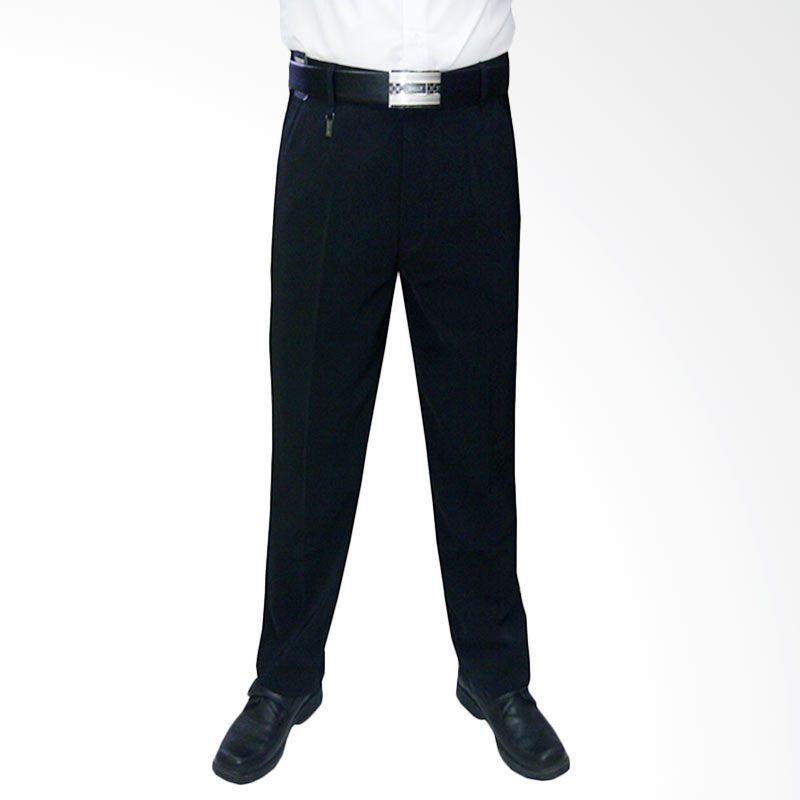 VM Formal Slim Fit Hitam Celana Panjang Pria