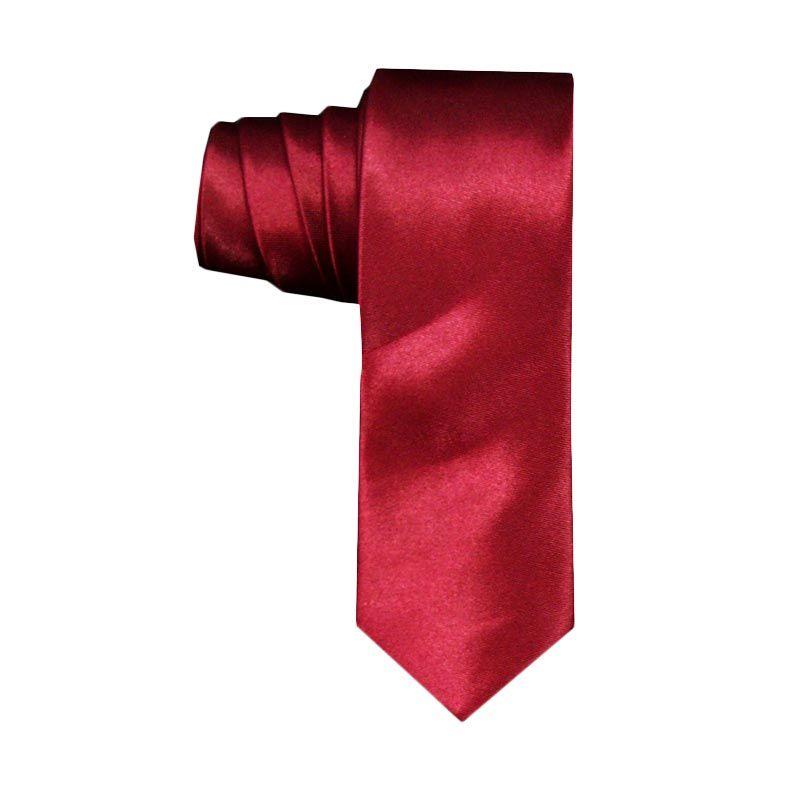 VM Slim Merah Marun Dasi
