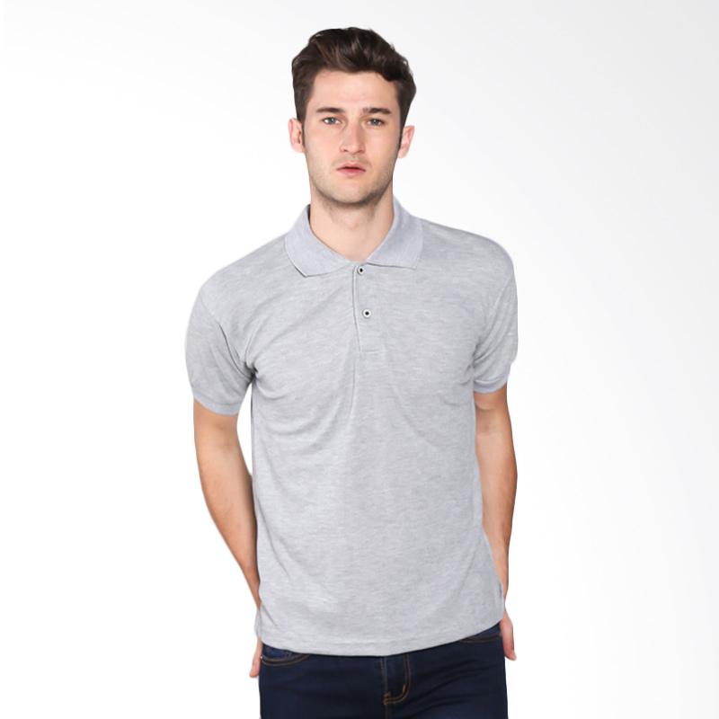 VM Polos Basic Polo Shirt - Abu Muda Extra diskon 7% setiap hari Extra diskon 5% setiap hari Citibank – lebih hemat 10%
