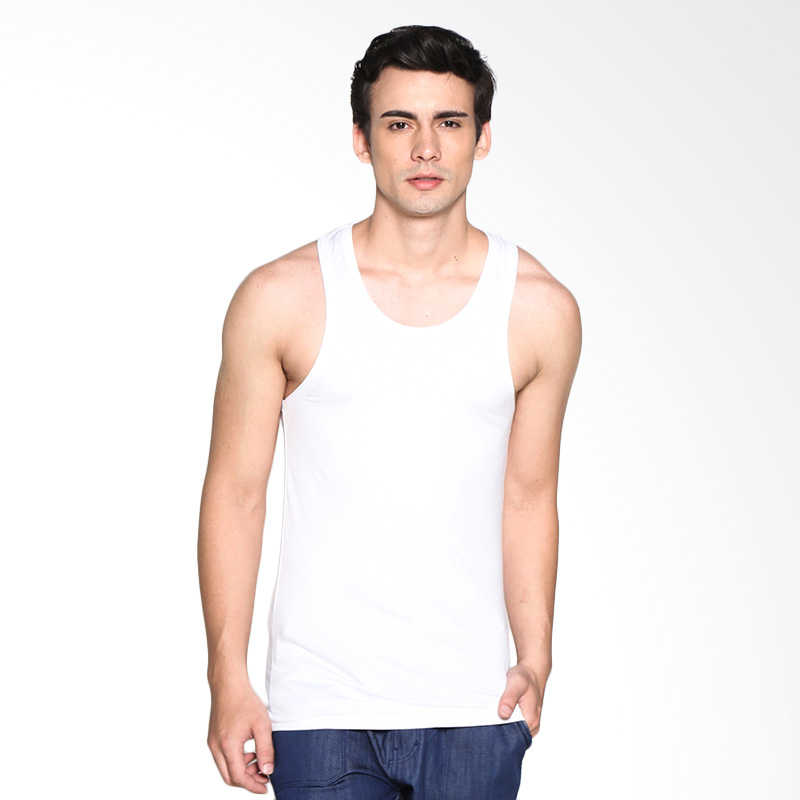 VM Spandek Stretch Kaos Singlet - Putih Extra diskon 7% setiap hari Extra diskon 5% setiap hari Citibank – lebih hemat 10%