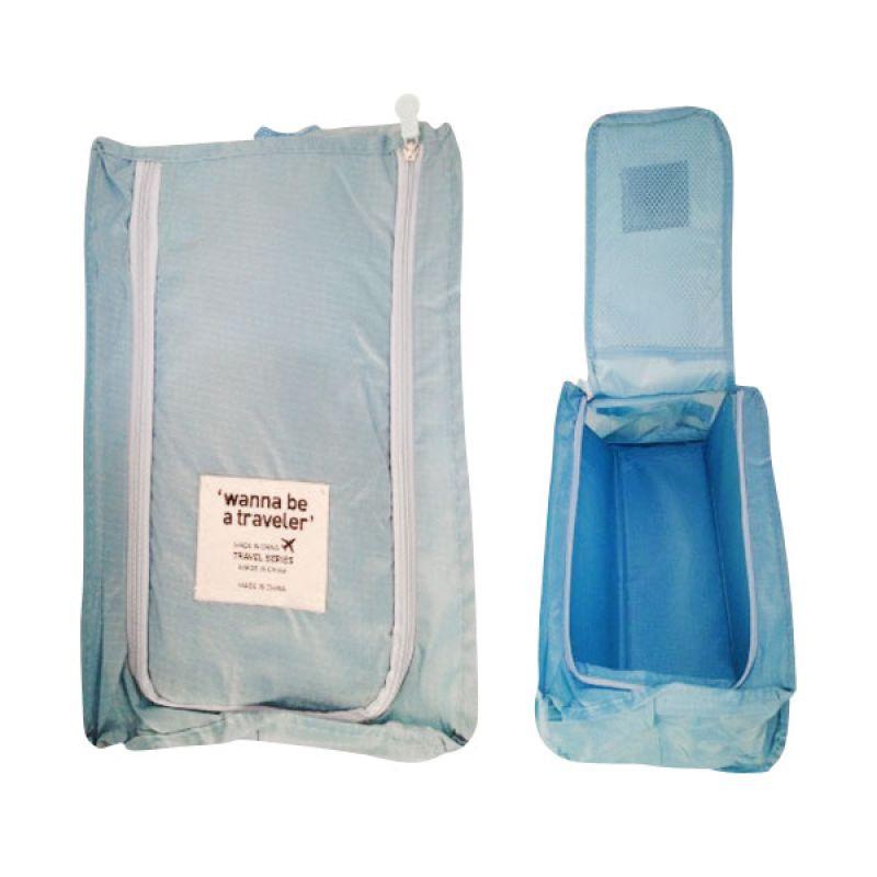 Vronique Boutique Tas Sepatu Blue