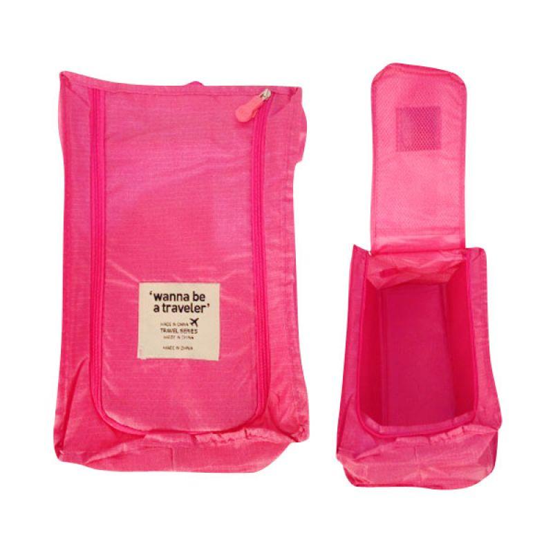 Vronique Boutique Tas Sepatu Pink