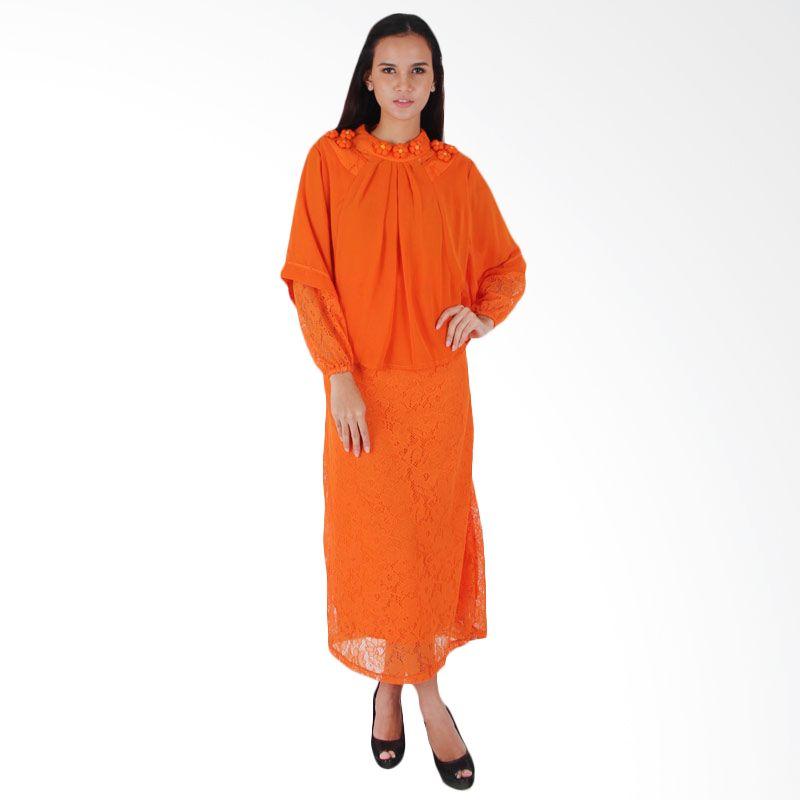 Vstyle Muslim Dress J002 - Orange