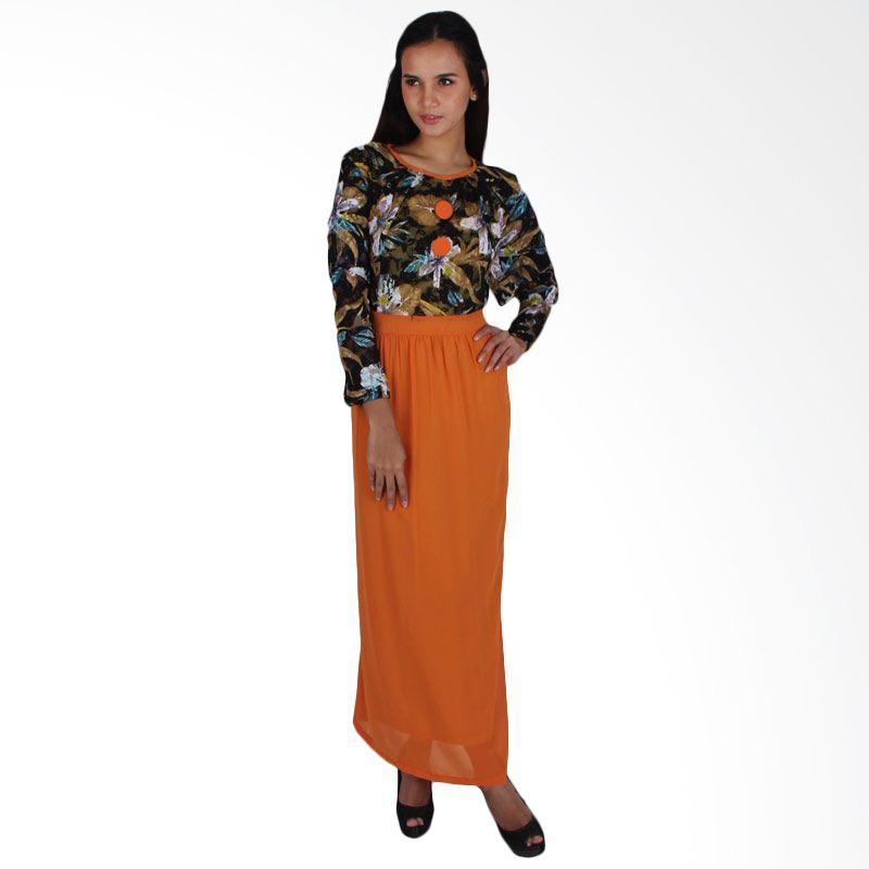 Vstyle Muslim Dress J004 - Orange