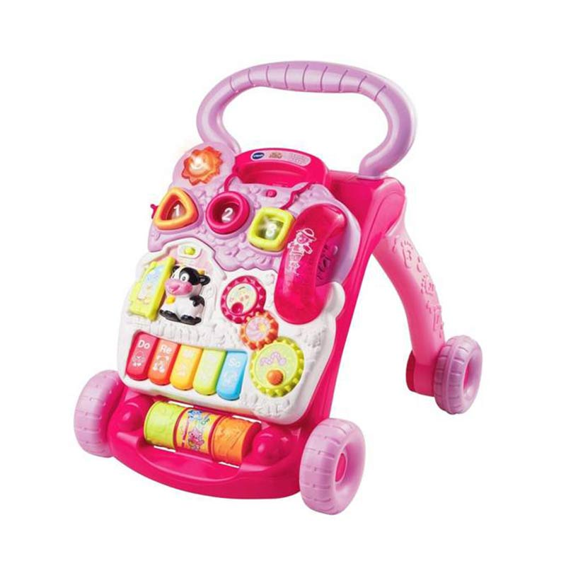 Vtech Sit To Stand Learning Walker (Pink) Mainan Anak