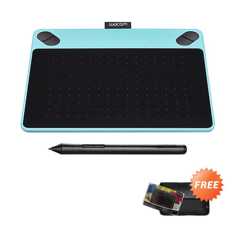 Spesifikasi Wacom CTL-490/B0 Intuos Draw Small Mint Blue Pen Tablet Harga murah Rp 1,399,000. Beli & dapatkan diskonnya.
