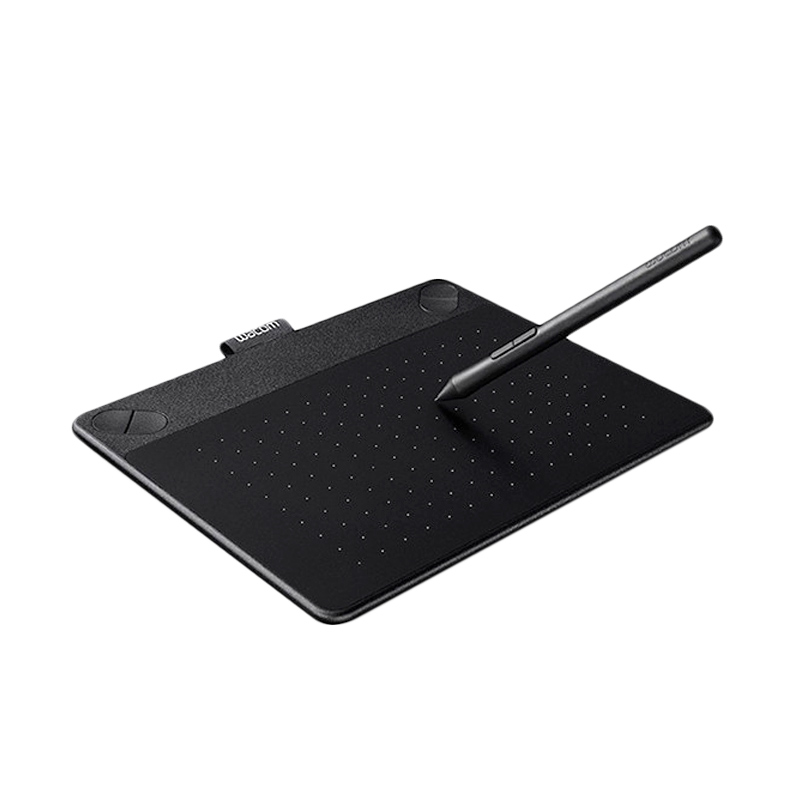 harga Wacom Intuos Photo S Creative Pen & Touch Tablet Small Drawing Pad - Black Blibli.com
