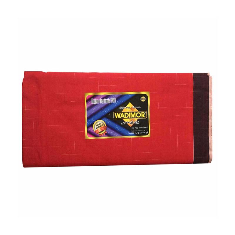 Premium Songket Source · Wadimor Sarung Tenun Hujan Gerimis Merah
