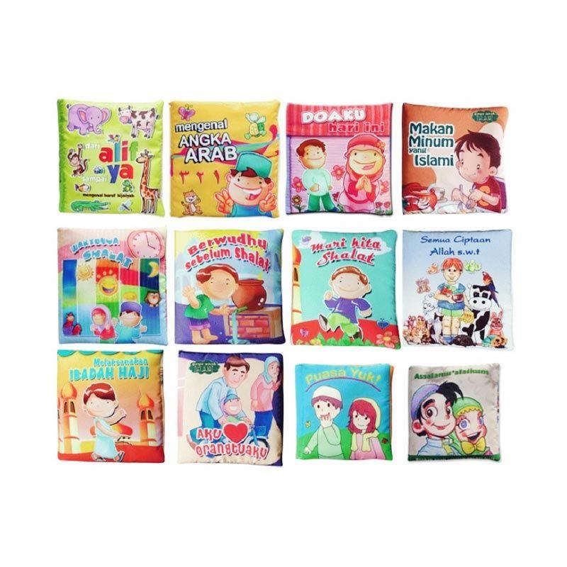 Buku Kainku Paket Seri Anak Muslim Mainan Anak [12 Pcs]