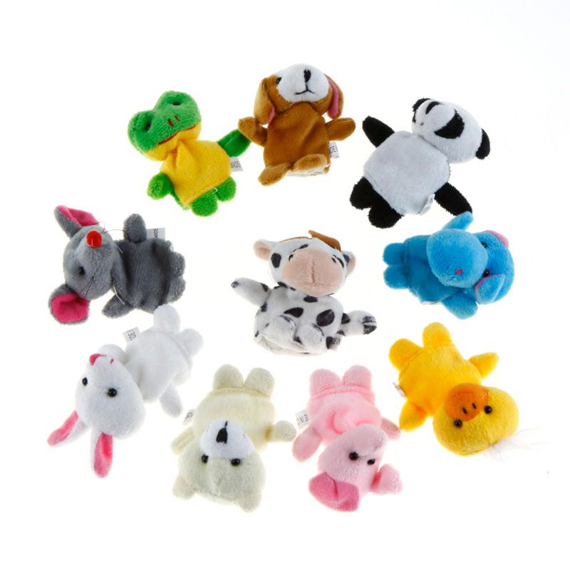 Wafi Bebe Boneka Jari Animal Mainan Anak [10 Pcs]