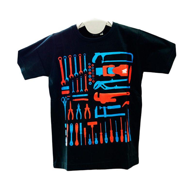 RNP Junior Tool Box Black T-Shirt Anak