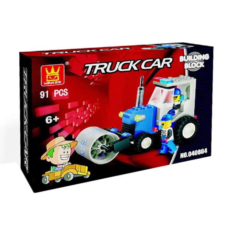 Wange 040804 Truck Car Mainan Blok & Puzzle