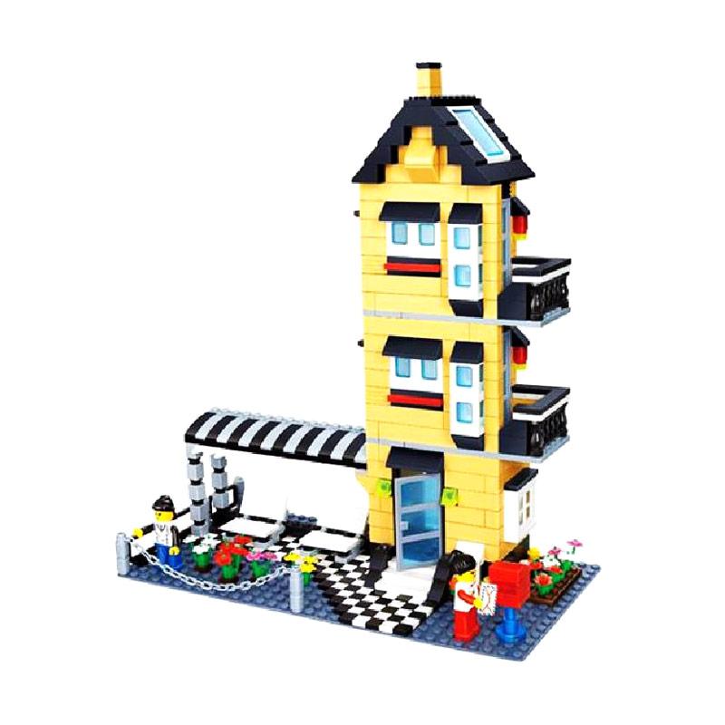 Wange 32053 Villa Creation Mainan Blok & Puzzle