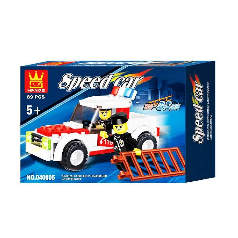 Wange Fire Engine 040805 Mainan Blok & Puzzle