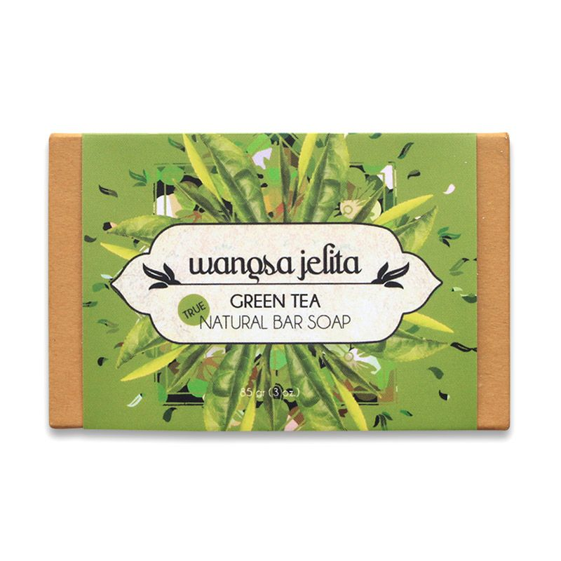 Wangsa Jelita Green Tea True Natural Bar Soap