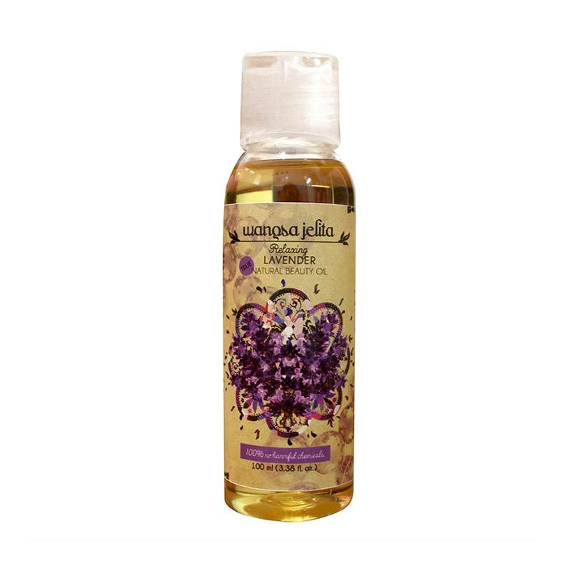 Wangsa Jelita Relaxing Lavender Beauty Oil (100 ml)