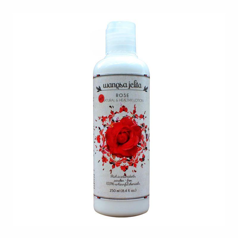 Wangsa Jelita Rose True Natural & Healthy Lotion
