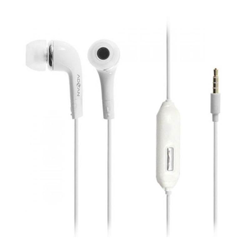 Advan Stereo Advan Vandroid Putih Headset