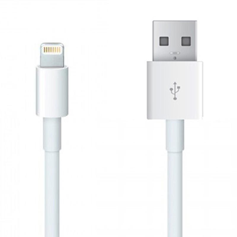 Apple Putih USB Data Cable for iPhone 5 or iPhone 5C