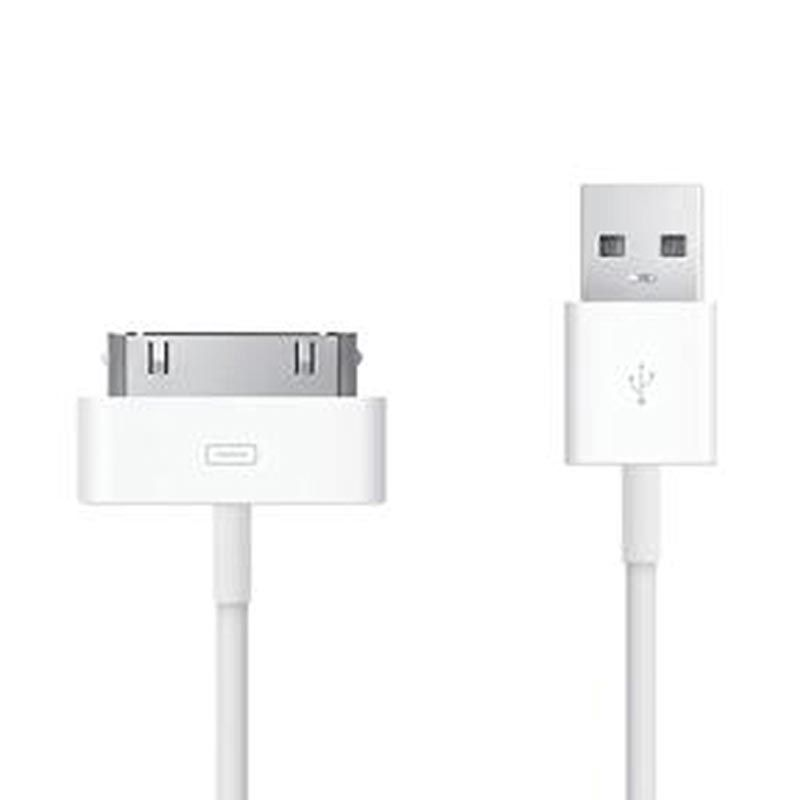 Apple Putih USB Data Cable Original for iPhone 4 or iPhone 4S
