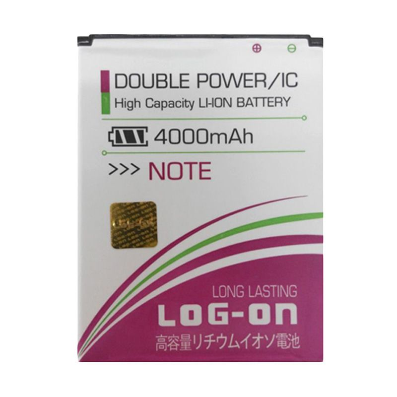 Log On Double Power Battery for Xiaomi Redmi Note [4000 mAh]