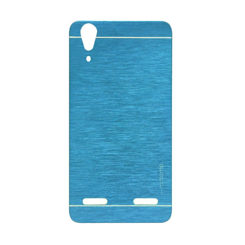 Motomo Biru Hard Case Casing for Lenovo A6000