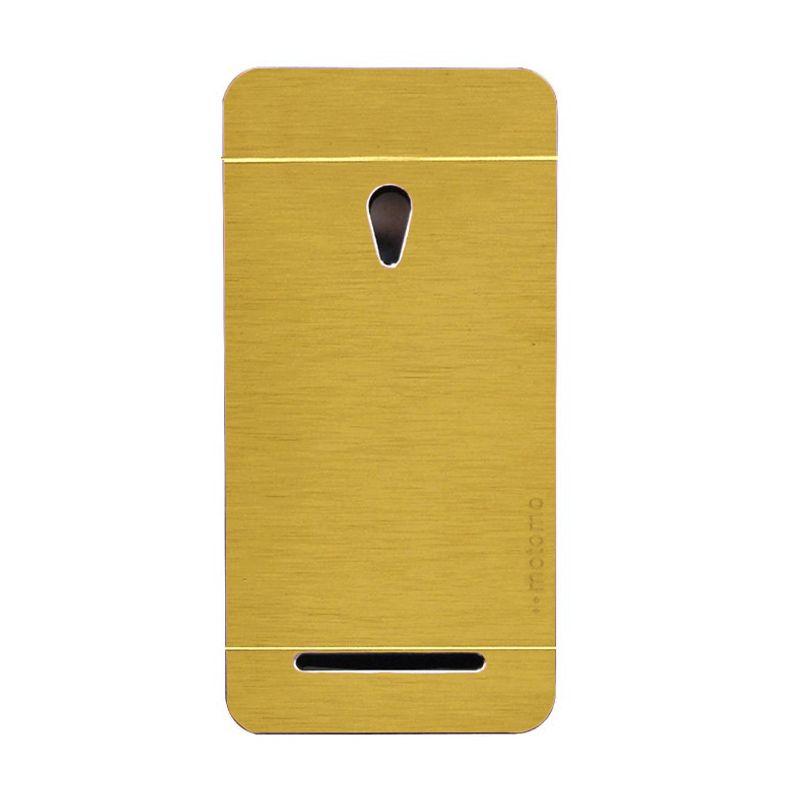 Motomo Hardcase Gold Casing for Asus Zenfone 5