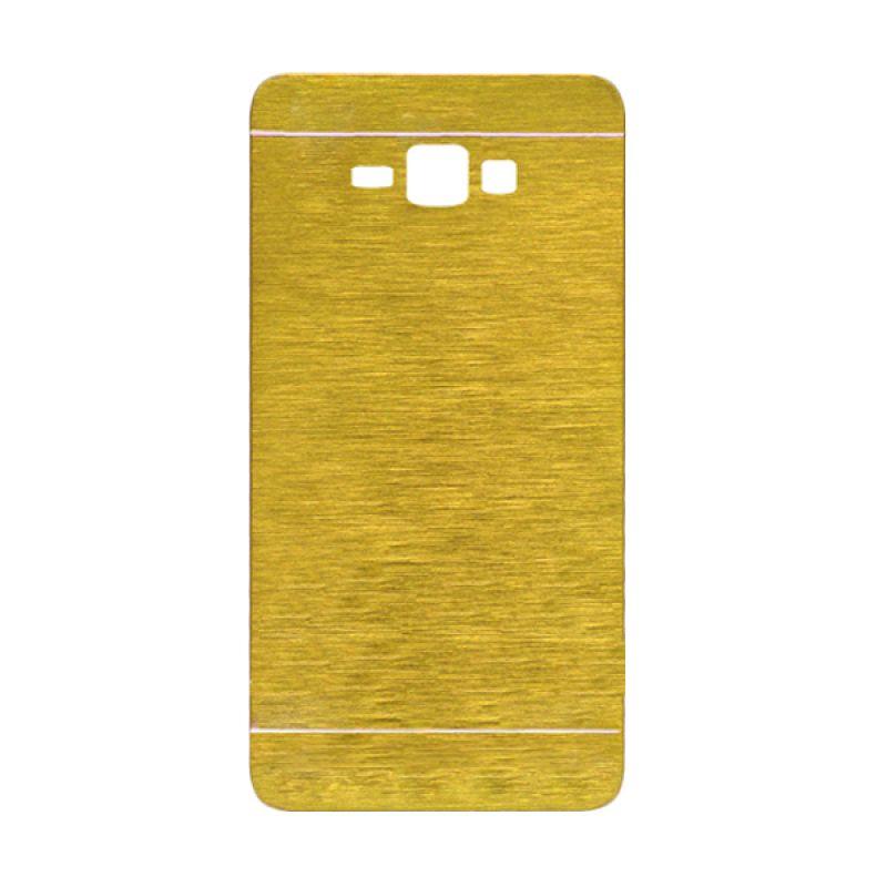 Motomo Gold Hard Case Casing for Galaxy J1