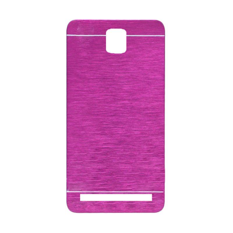 Motomo Pink Hard Case Casing for Asus Zenfone C