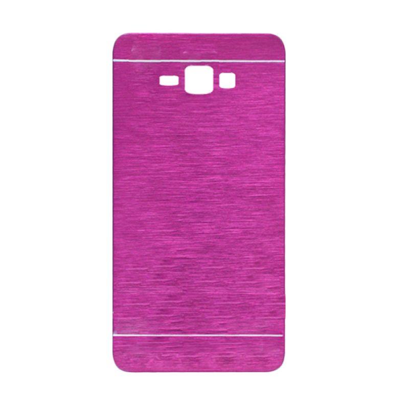 Motomo Pink Hard Case Casing for Galaxy J1