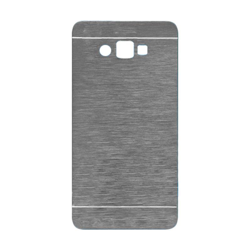 Motomo Silver Hard Case Casing for Galaxy Ace 4