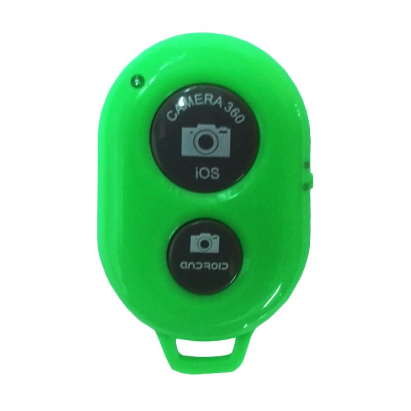 PRO Tomsis Bluetooth Hijau Camera Shutter for Android or iOs