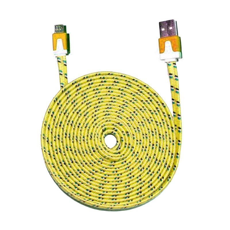PRO Tali Sepatu Kuning USB Data Cable