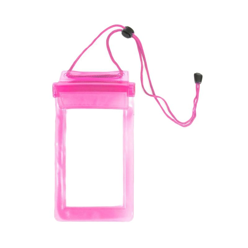 Pro Pink Waterproof Pouch Casing for Smartphone