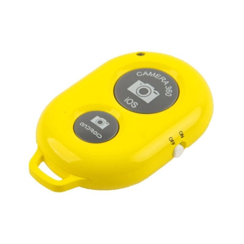 PRO Yellow Bluetooth Camera Shutter for Android and iOS