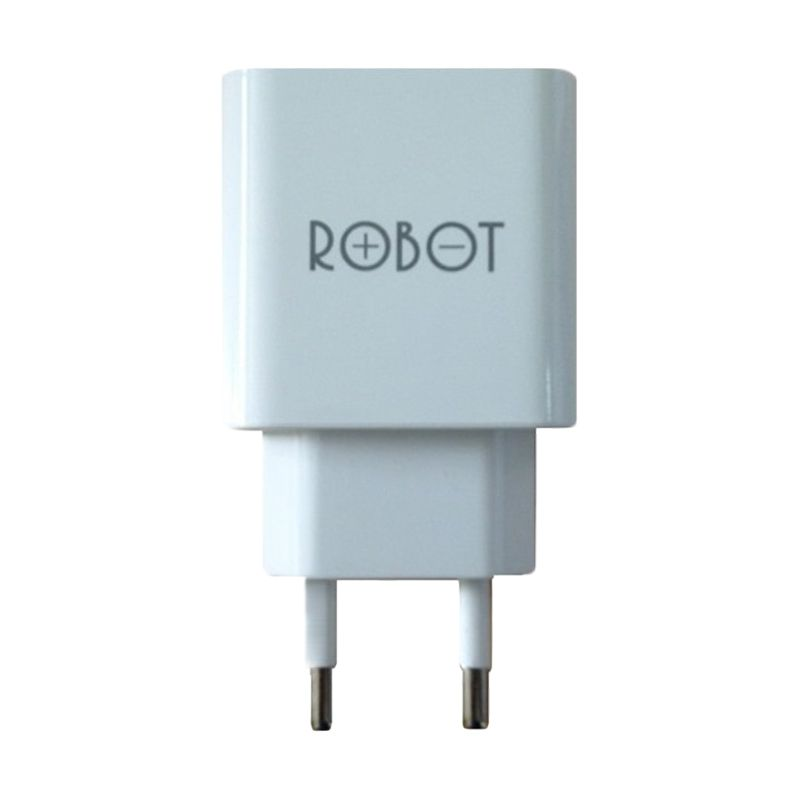 Robot RTC04 Putih Adaptor Charger for Tablet or Smartphone