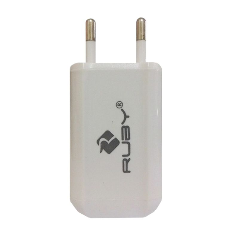 Ruby Travel Charger Universal 2.1A Putih