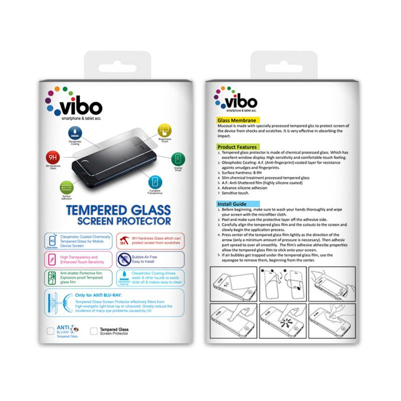 Vibo Ultrathin Tempered Glass Screen Protector for Meizu MX4