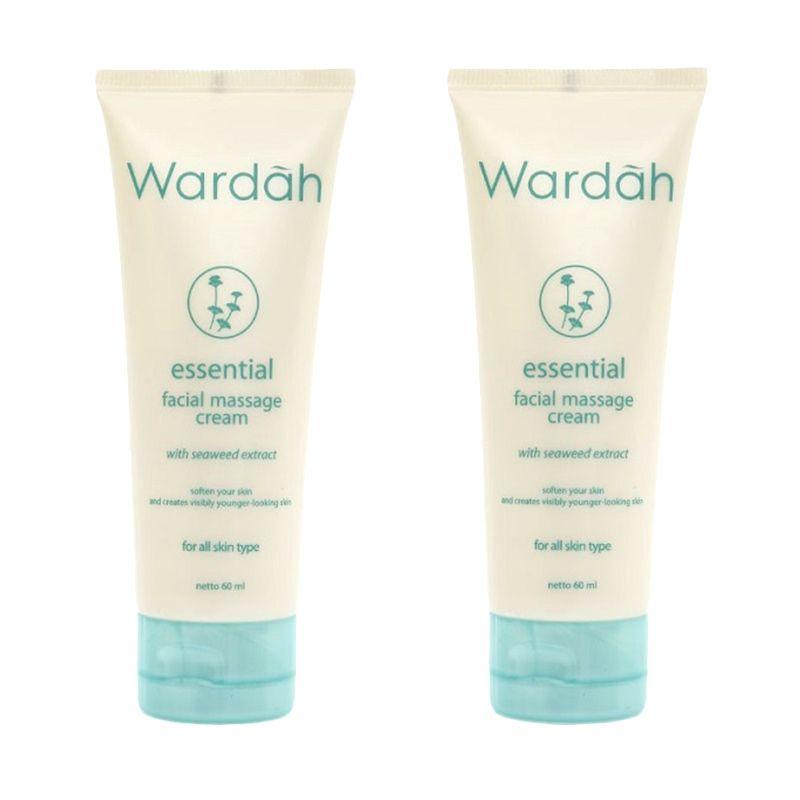 Wardah Essential Facial Massage Cream - 2 in 1