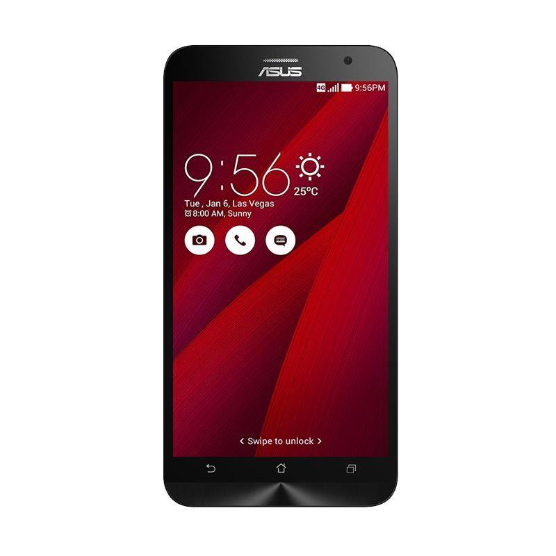 Asus Zenfone 2 ZE551ML Merah Smartphone [4 GB/32 GB]