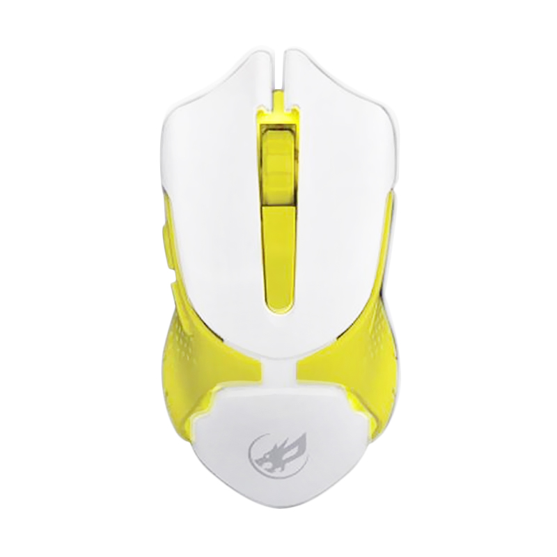 WarWolf Q-5 Gaming Mouse - Yellow [7 LED Light]